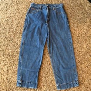 Eddie Bauer Capri Stonewashed Jeans Size 10T